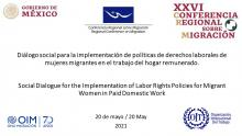Social dialogue for the implementation of labor rights policies for migrant women in Domestic and Care Work