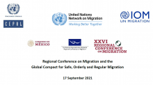 The Regional Conference on Migration and the Global Compact for Safe, Orderly and Regular Migration